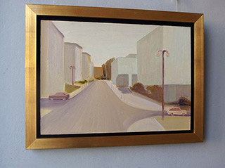 Piotr Bukowski : Street : Oil on Canvas