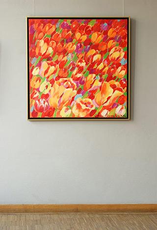 Beata Murawska : The Rite of Spring : Oil on Canvas