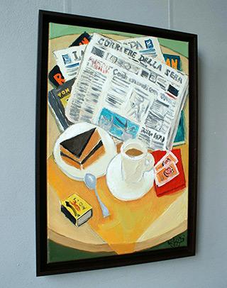 Krzysztof Kokoryn : Corriere Della Sera : Oil on Canvas