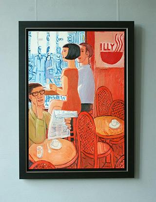 Krzysztof Kokoryn : Illy - excellent and fragrant : Oil on Canvas