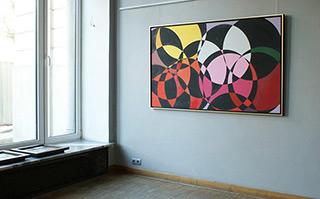 Małgorzata Jastrzębska : Painting no 374 : Oil on Canvas