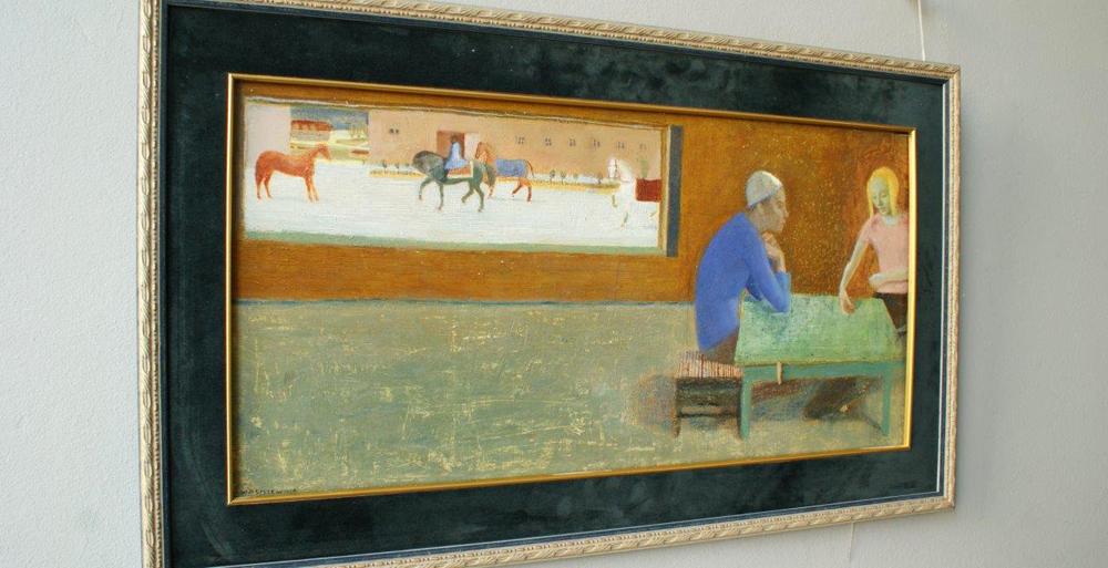 Aleksandra Waliszewska : Before horse riding