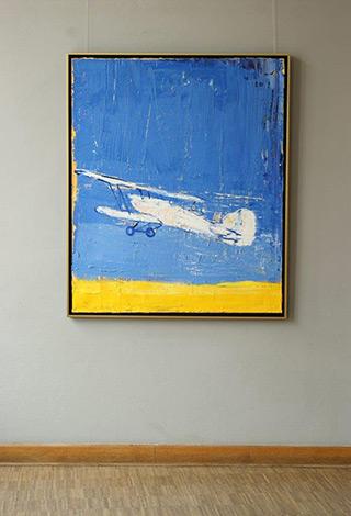 Jacek Łydżba : Fury : Oil on Canvas