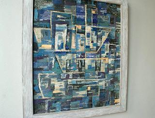 Zofia Matuszczyk-Cygańska : Ships : Oil on Canvas