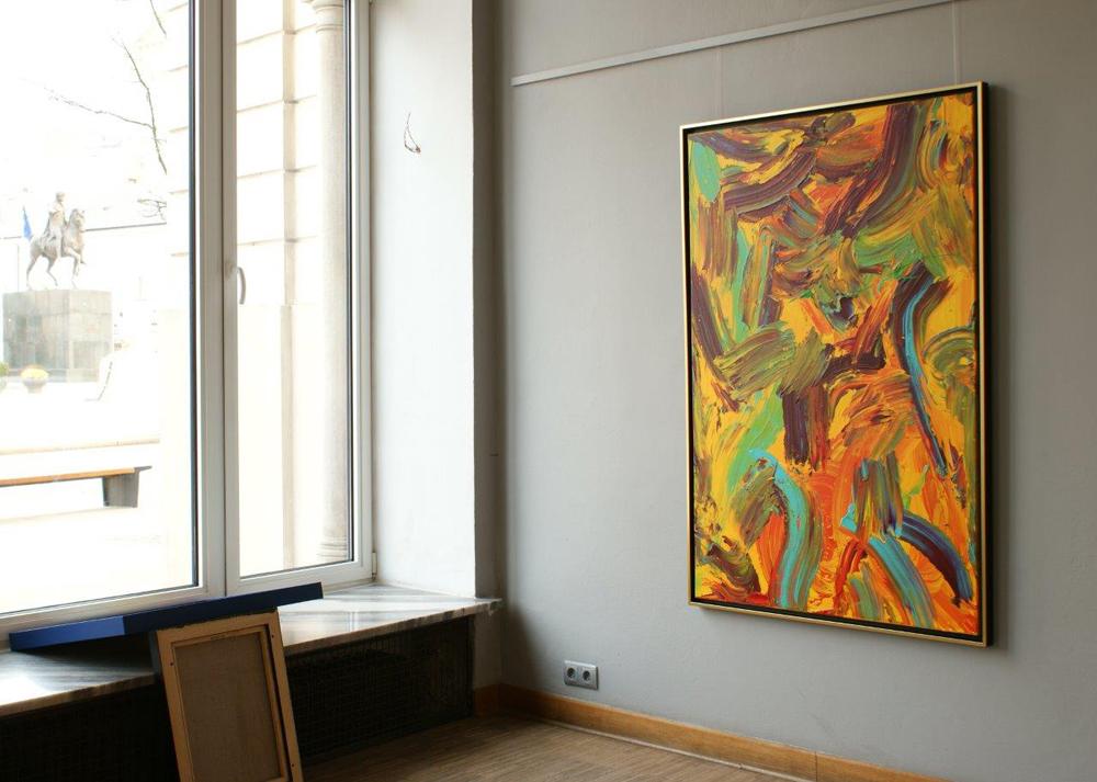 Edward Dwurnik : Painting No. 325-4885