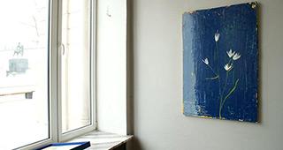 Jacek Łydżba : Eriophorum angustifolium : Oil on Canvas