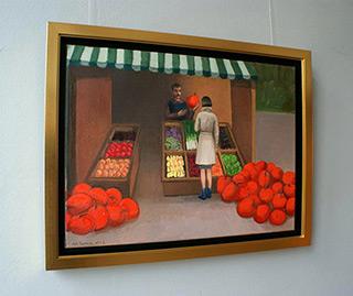 Katarzyna Karpowicz : Greengrocer : Oil on Canvas
