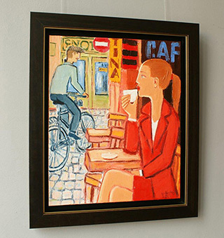 Krzysztof Kokoryn : Cafe Tina : Oil on Canvas