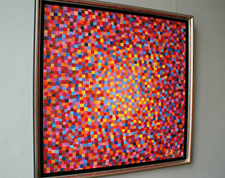 Zofia Matuszczyk-Cygańska : Fire Oil on canvas : Oil on Canvas
