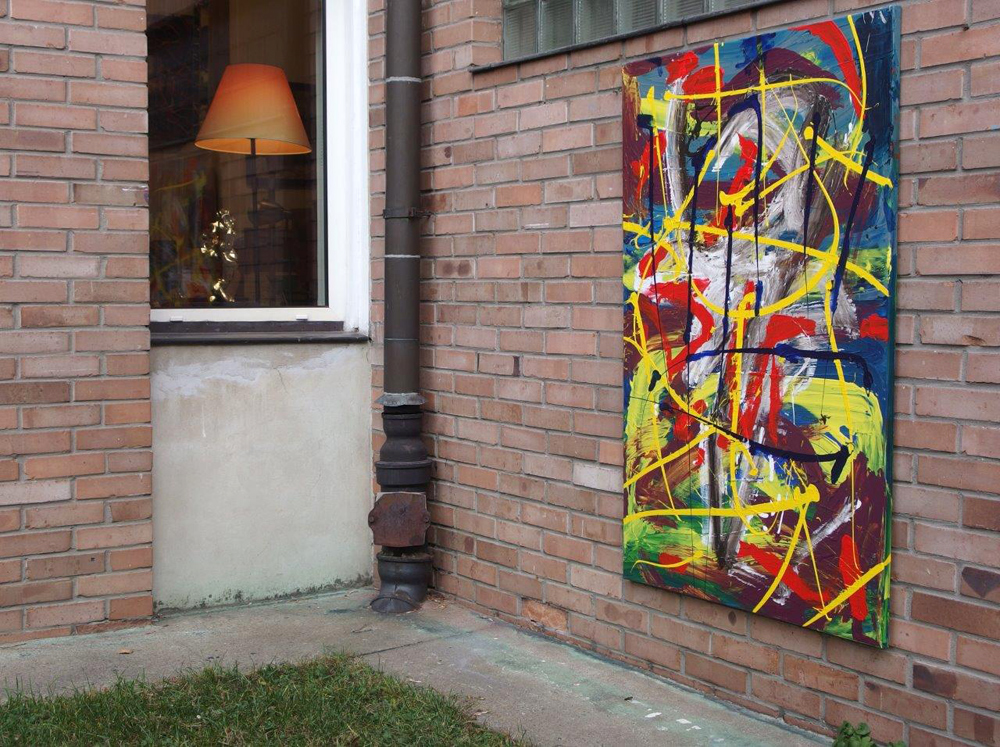 Edward Dwurnik : Painting No. 322-4882