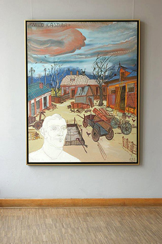 Edward Dwurnik : Uncle from Kashuby : Oil on Canvas