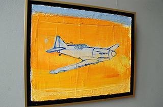 Jacek Łydżba : D - 520 : Oil on Canvas