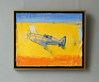Jacek Łydżba : MS-406 : Oil on Canvas