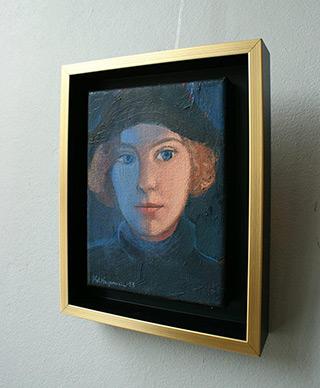 Katarzyna Karpowicz : Blue shadow : Oil on Canvas