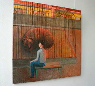 Katarzyna Karpowicz : Visit : Oil on Canvas