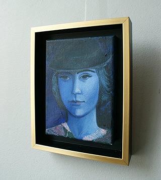 Katarzyna Karpowicz : Young girl : Oil on Canvas