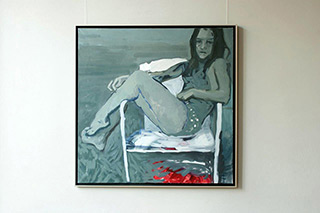 Katarzyna Swinarska : Virgin : Oil on Canvas