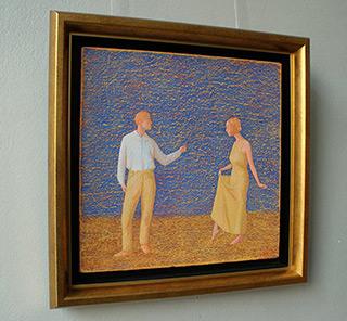 Mikołaj Kasprzyk : Dance lesson : Oil on Canvas