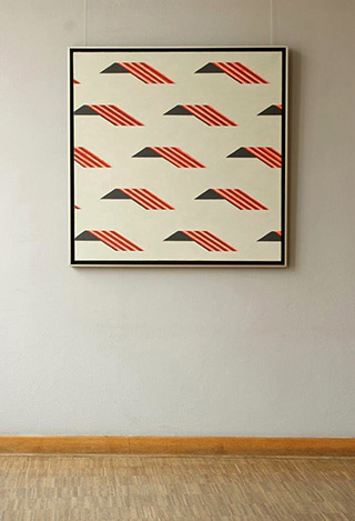 Radek Zielonka : Roofs : Oil on Canvas