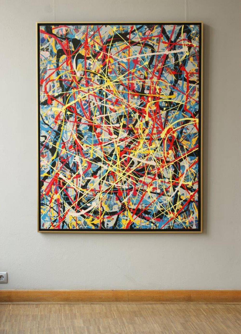 Edward Dwurnik : Painting No. 12-2615 Series XXV Year 2000