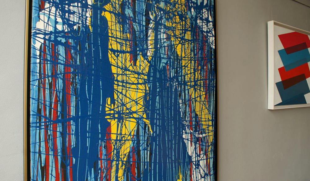 Edward Dwurnik : Painting No. 48-2803 Series XXV Year 2002