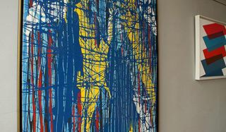 Edward Dwurnik - Painting No. 48-2803 Series XXV Year 2002