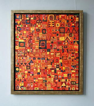 Krzysztof Pająk : Hot breeze : Oil on Canvas