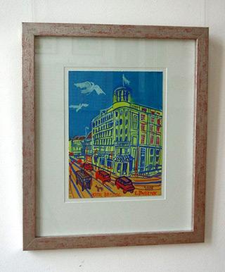 Edward Dwurnik : Bristol : Watercolour on Paper