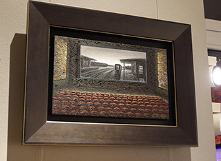 Adam Patrzyk : Old cinema : Oil on Canvas