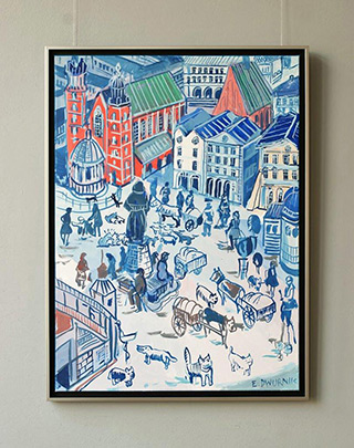 Edward Dwurnik : Kraków : Oil on Canvas