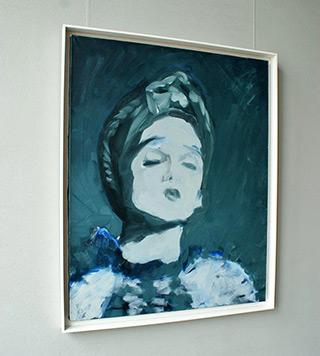 Katarzyna Swinarska : Lady : Oil on Canvas