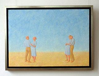Mikołaj Kasprzyk : Dance : Oil on Canvas
