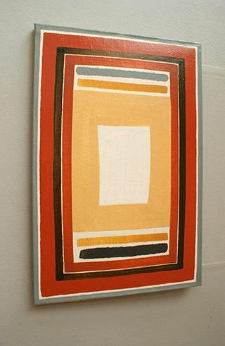 Łukasz Majcherowicz : Sail : Oil on Canvas