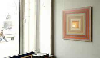 Łukasz Majcherowicz : Window's space : Acrylic on canvas