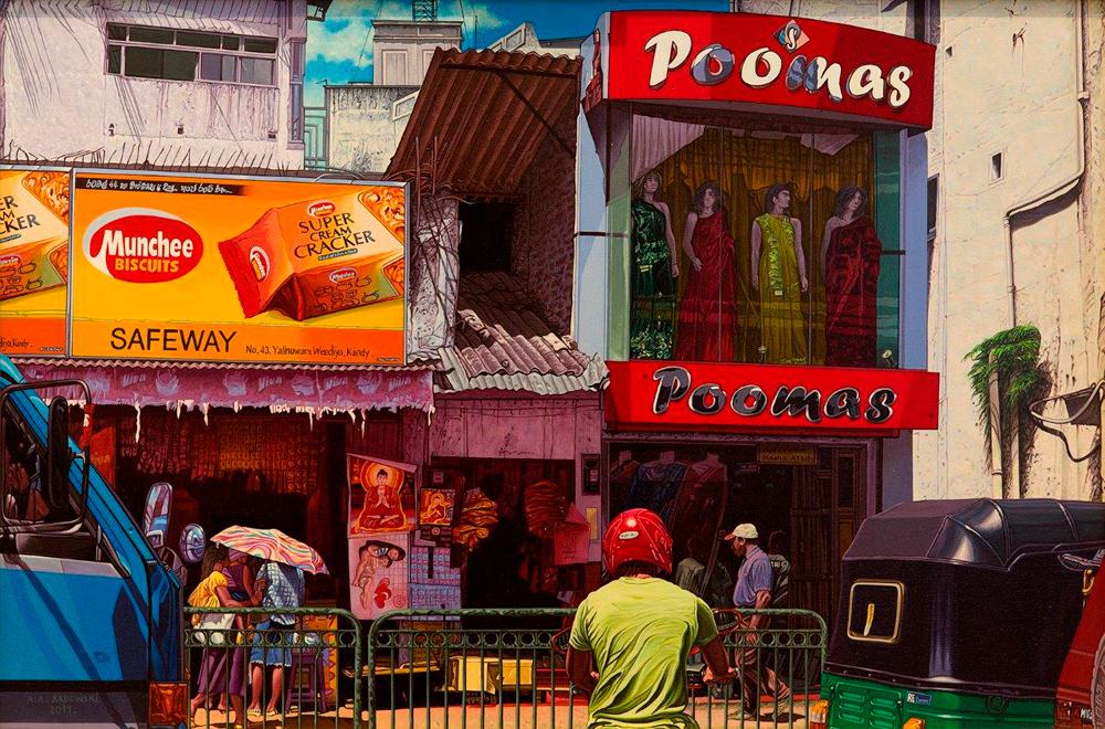 Andrzej Sadowski : Kandy Poomas shop 2011