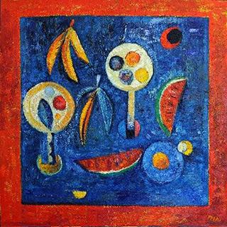 Darek Pala : Big Still Life : Oil on Canvas