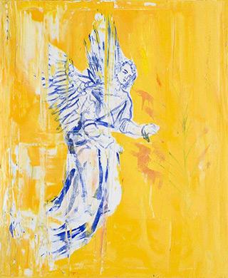 Jacek Łydżba : Angel I : Oil on Canvas