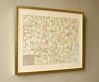 Jolanta Wagner : Inventory of private collection : Ink on paper