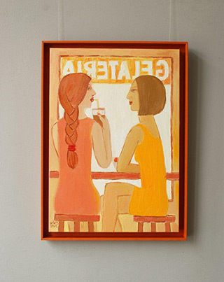 Krzysztof Kokoryn : Gelateria : Oil on Canvas