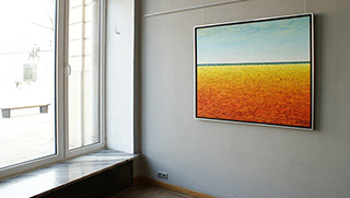 Adam Patrzyk : Pure landscape : Oil on Canvas