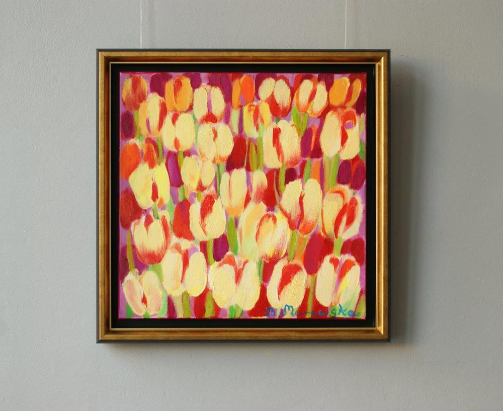 Beata Murawska : Golden tulips