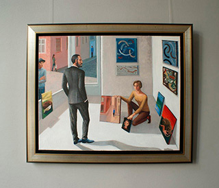 Katarzyna Karpowicz : In the gallery : Oil on Canvas