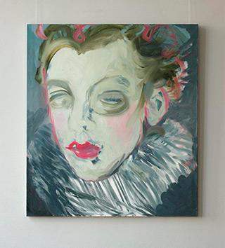 Katarzyna Swinarska : Sofonisba as a courtier : Oil on Canvas