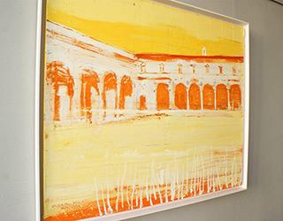 Jacek Łydżba : Florence - Ospedale degli Innocenti : Oil on Canvas
