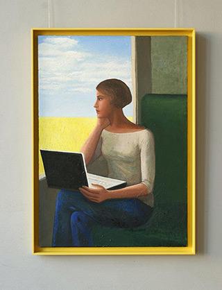 Katarzyna Karpowicz : Painters notes : Oil on Canvas