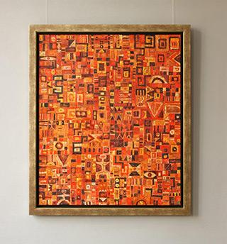 Krzysztof Pająk : Altiplano : Oil on Canvas