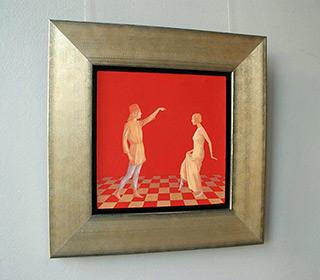 Mikołaj Kasprzyk : Dance lesson in Bologna : Oil on Canvas