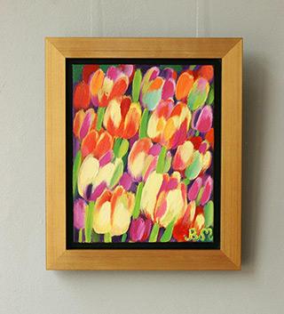 Beata Murawska : Beautiful bouquet : Oil on Canvas