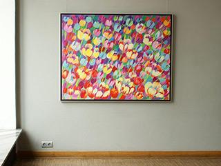Beata Murawska : Farewell spring : Oil on Canvas
