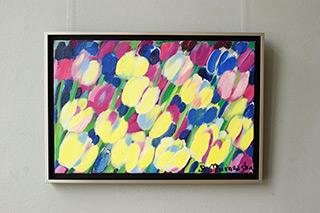 Beata Murawska : Hard candy : Oil on Canvas